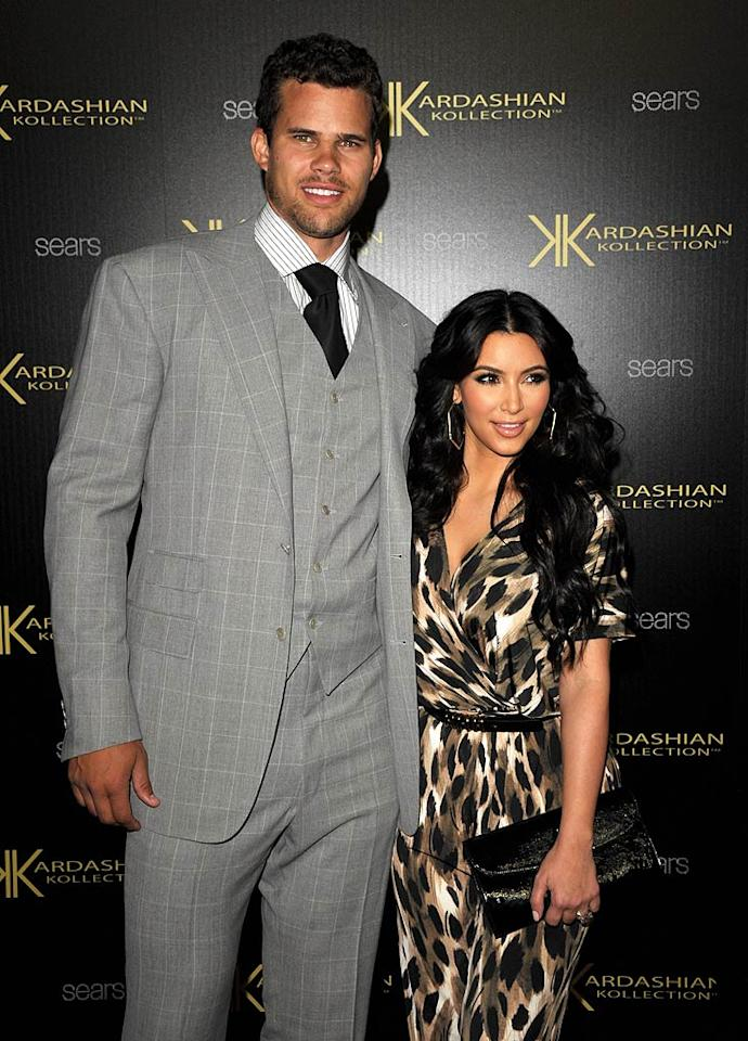 """Kim's fiance Kris Humphries also made an appearance at the event. Think their marriage is gonna last? John Shearer/<a href=""""http://www.wireimage.com"""" target=""""new"""">WireImage.com</a> - August 17, 2011"""