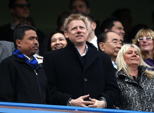 Proud father Peter Schmeichel was in the stands as son Kasper made his debut for Darlington as a 19-year-old