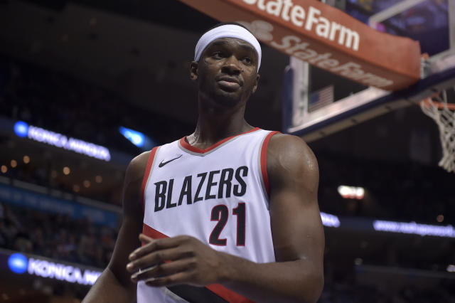 "<a class=""link rapid-noclick-resp"" href=""/nba/players/5320/"" data-ylk=""slk:Noah Vonleh"">Noah Vonleh</a> is a former top-10 pick. (AP)"