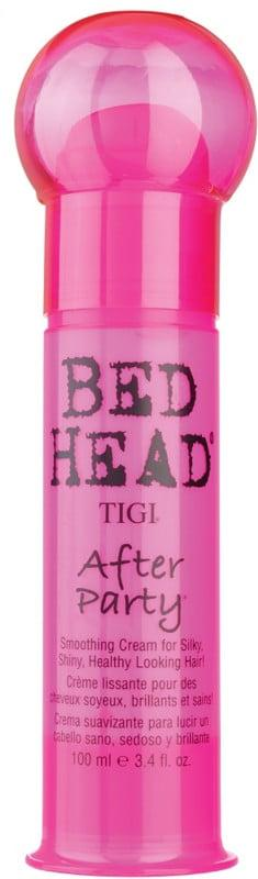 """<p>Justice likes to use lightweight leave-in treatments or styling products like the <a href=""""https://www.popsugar.com/buy/Tigi-Bed-Head-After-Party-476155?p_name=Tigi%20Bed%20Head%20After-Party&retailer=ulta.com&pid=476155&price=23&evar1=bella%3Aus&evar9=46460988&evar98=https%3A%2F%2Fwww.popsugar.com%2Fphoto-gallery%2F46460988%2Fimage%2F46460992%2FTigi-Bed-Head-After-Party&list1=hair%2Cbeauty%20products%2Ccelebrity%20hair%2Cvictoria%20justice%2Cbeauty%20interview&prop13=api&pdata=1"""" rel=""""nofollow"""" data-shoppable-link=""""1"""" target=""""_blank"""" class=""""ga-track"""" data-ga-category=""""Related"""" data-ga-label=""""https://www.ulta.com/bed-head-after-party?productId=xlsImpprod4750011&amp;sku=2066724&amp;cmpid=PS_Non!google!Product_Listing_Ads&amp;cagpspn=pla&amp;CATCI=pla-294680686006&amp;CAAGID=18002902230&amp;CAWELAID=1609381531&amp;CATARGETID=330000200001332369&amp;cadevice=c&amp;gclid=EAIaIQobChMIjPiTxdru4wIVSj0MCh3sXA8PEAQYBCABEgKuF_D_BwE"""" data-ga-action=""""In-Line Links"""">Tigi Bed Head After-Party</a> ($23) to bring down her flyaways.</p>"""