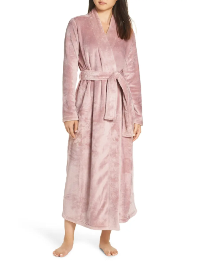 "Double-sided fleece! Full-length! Machine-washable! Consider us sold. $145, Nordstrom. <a href=""https://www.nordstrom.com/s/ugg-marlow-double-face-fleece-robe/5083987"" rel=""nofollow noopener"" target=""_blank"" data-ylk=""slk:Get it now!"" class=""link rapid-noclick-resp"">Get it now!</a>"