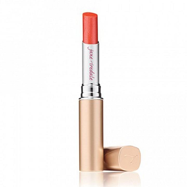 Jane Iredale PureMoist Lipstic in Live in Full Bloom, $25; at Jane Iredale