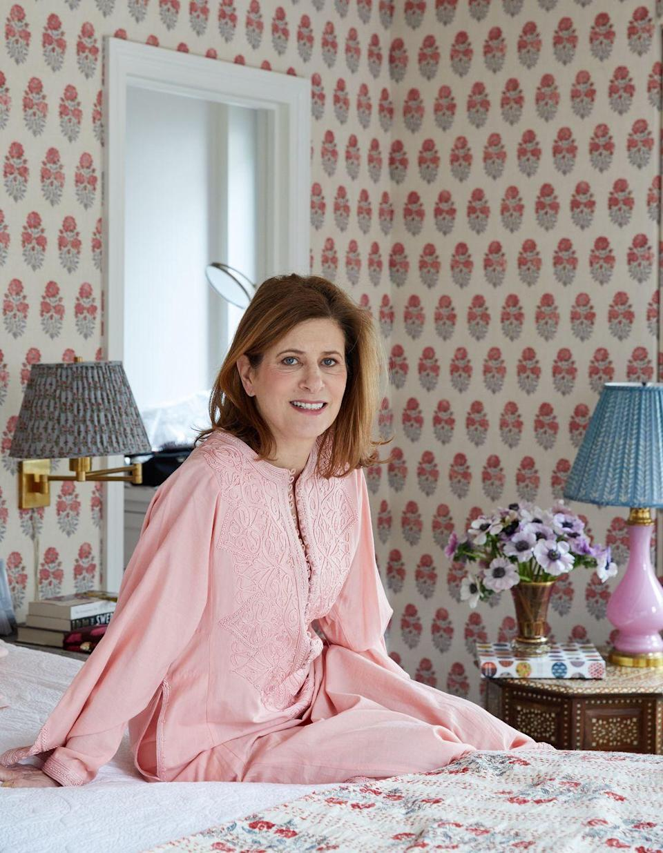 """<p>Lisa Fine, of the eponymous textiles brand, loves Etsy shop <a href=""""https://www.etsy.com/shop/TheTextileTrunk?ref=simple-shop-header-name&listing_id=708038215"""" rel=""""nofollow noopener"""" target=""""_blank"""" data-ylk=""""slk:Textile Trunk"""" class=""""link rapid-noclick-resp"""">Textile Trunk</a> for antique and vintage European textiles. The Shelburne, Vermont–based shop also makes its way to the Brimfield Antique Market in Massachusetts each summer if you want to see the items in person. One of her favorite listings is a <a href=""""https://www.etsy.com/listing/708038215/french-fabric-purple-pink-floral-circa?ref=shop_home_active_208&frs=1&sca=1"""" rel=""""nofollow noopener"""" target=""""_blank"""" data-ylk=""""slk:French purple and pink floral fabric"""" class=""""link rapid-noclick-resp"""">French purple and pink floral fabric</a> from the mid-19th century. </p><p>You can explore Fine's passion for globally inspired textiles, design, and style in her book <em><a href=""""https://www.amazon.com/Near-Far-Interiors-I-Love/dp/0865653658"""" rel=""""nofollow noopener"""" target=""""_blank"""" data-ylk=""""slk:Near & Far."""" class=""""link rapid-noclick-resp"""">Near & Far. </a></em></p>"""