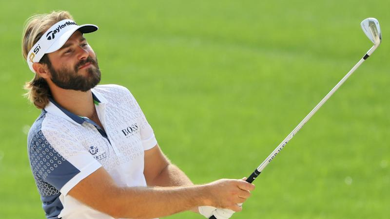 Dubuisson takes 1-shot lead at World Tour Championship