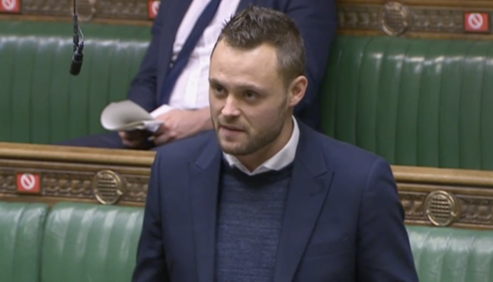 Ben Bradley has called for the government to appoint a minister for men. (Parliamentlive.tv)