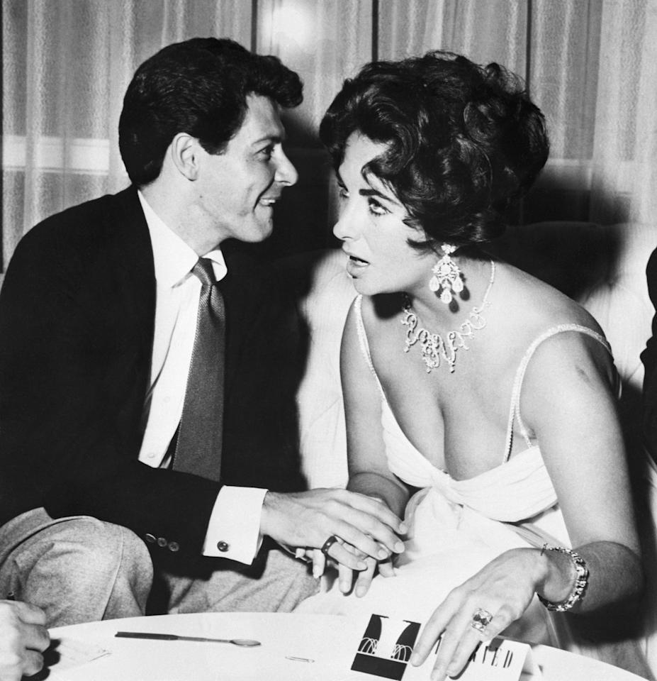<p>Elizabeth Taylor's huge 33.19-carat, Asscher-cut diamond ring from Richard Burton comes in at number two. It was worth £6.8 million.<br /><i>[Photo: Getty]</i> </p>