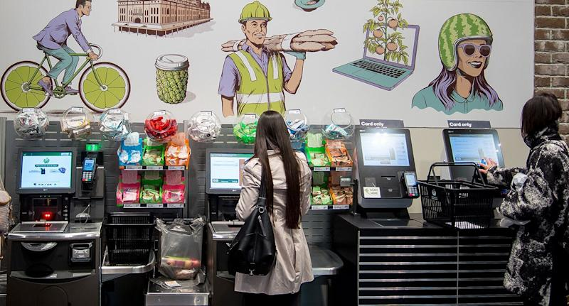Woolworths said most customers have no trouble scanning the right items. Source: Getty