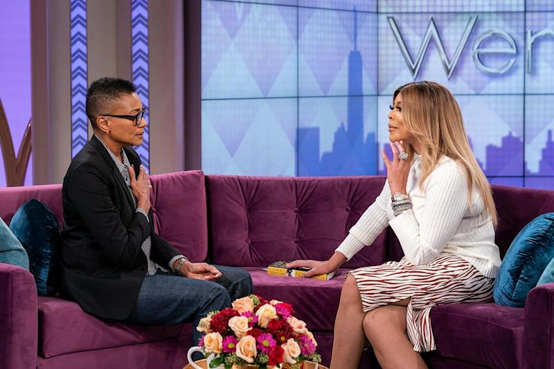 Robyn Crawford and Wendy Williams | Courtesy The Wendy Williams Show
