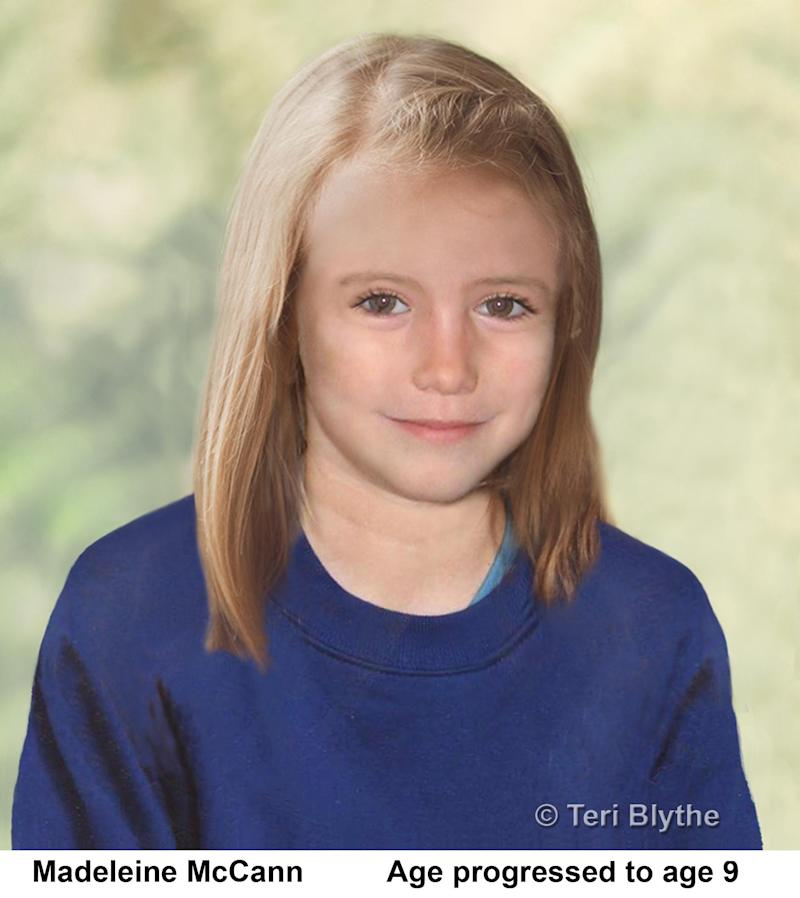 Madeleine McCann is thought to be dead by German police. Source: AAP
