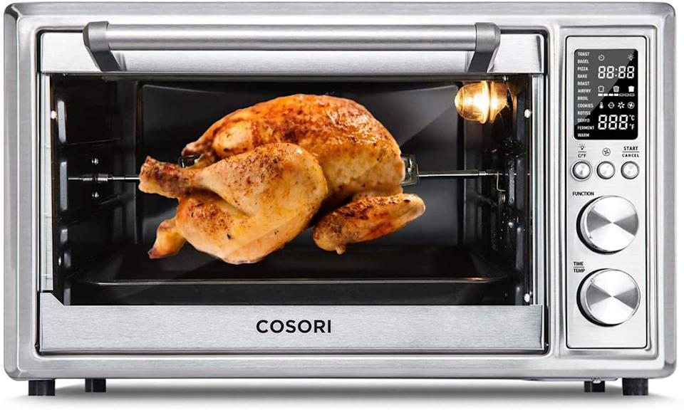 12-in-1 Cosori Air Fryer Toaster Oven Combo - Amazon