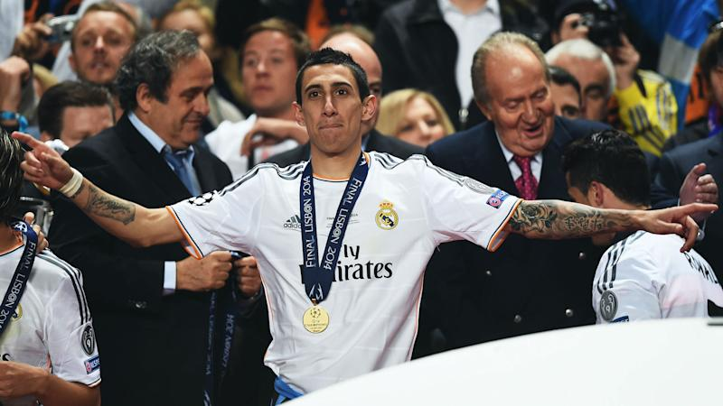 Di Maria Real Madrid 2014 final Champions League