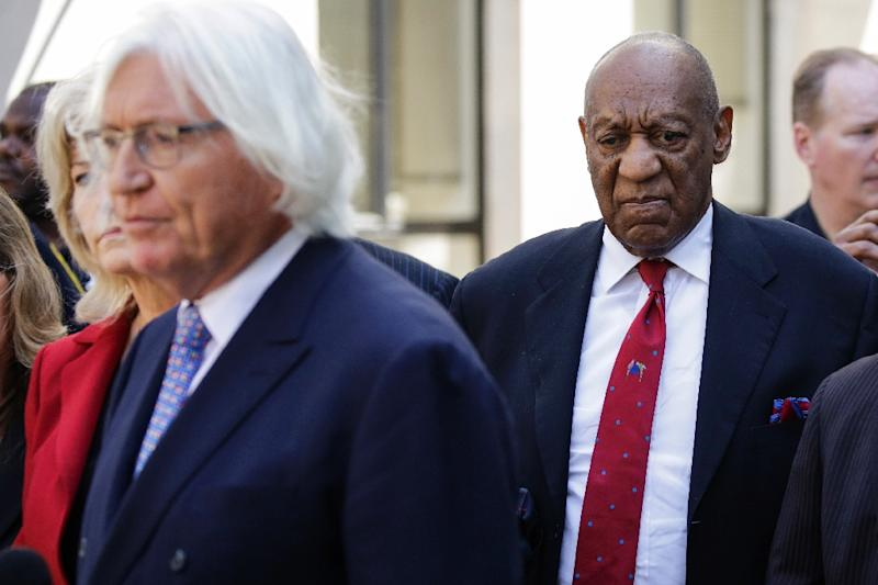 Actor and comedian Bill Cosby after being found guilty of drugging and sexually assaulting a woman 15 years ago