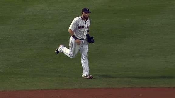 Jonny Gomes pulls off unassisted double play for Red Sox
