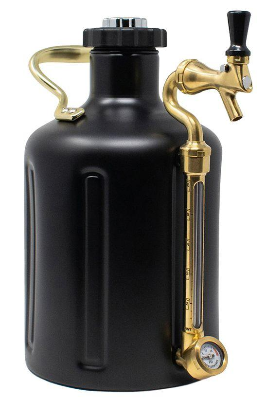 "<p><strong>GrowlerWerks</strong></p><p>huckberry.com</p><p><strong>$218.98</strong></p><p><a rel=""nofollow"" href=""https://huckberry.com/store/growlerwerks/category/p/54772-ukeg128-matte-black-w-c02"">Buy</a></p><p>This mini keg comes with 10 CO2 packs, so the beer pulled from its tap is fresh, cold, and bubbly for weeks to come. </p>"