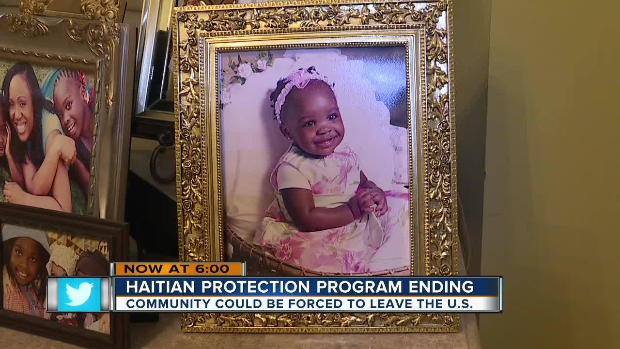 CAPE CORAL, Fla. -- Many Haitians in Southwest Florida could be on the brink of deportation come July 2019. President Donald Trump pulled the Temporary Protection Status for Haitian Immigrants that was made after Haiti's 2010 earthquake.