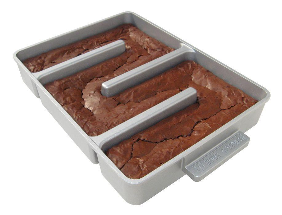 "<p><strong>Baker's Edge</strong><br>In addition to being a Shark Tank favorite, Baker's Edge brownie pans have another TV honor: being one of <a href=""http://money.cnn.com/2011/12/02/smallbusiness/Bakers_Edge_brownies/"" rel=""nofollow noopener"" target=""_blank"" data-ylk=""slk:Oprah's favorite things"" class=""link rapid-noclick-resp"">Oprah's favorite things</a> back in 2010.</p><span class=""copyright"">Photo: Courtesy of Baker's Edge.</span>"