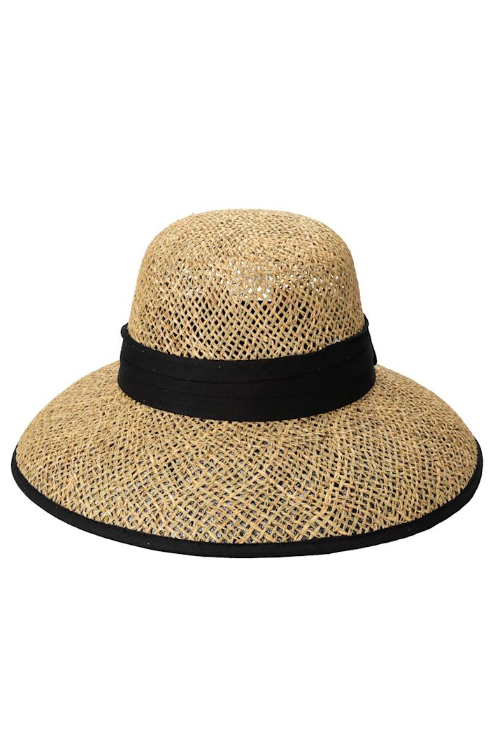 """<p><strong>SAN DIEGO HAT</strong></p><p>nordstrom.com</p><p><strong>$50.00</strong></p><p><a href=""""https://go.redirectingat.com?id=74968X1596630&url=https%3A%2F%2Fwww.nordstrom.com%2Fs%2Fsan-diego-hat-twisted-weave-cloche%2F5974971&sref=https%3A%2F%2Fwww.prevention.com%2Fbeauty%2Fskin-care%2Fg35482884%2Fbest-sun-hats%2F"""" rel=""""nofollow noopener"""" target=""""_blank"""" data-ylk=""""slk:Shop Now"""" class=""""link rapid-noclick-resp"""">Shop Now</a></p><p>If you're looking for something with a <strong>smaller profile that doesn't sacrifice shade</strong>, this is your hat. It's made of woven seagrass which is <em>so </em>aesthetically pleasing, and is lined on the inside to accomplish UPF 50+ protection. </p>"""