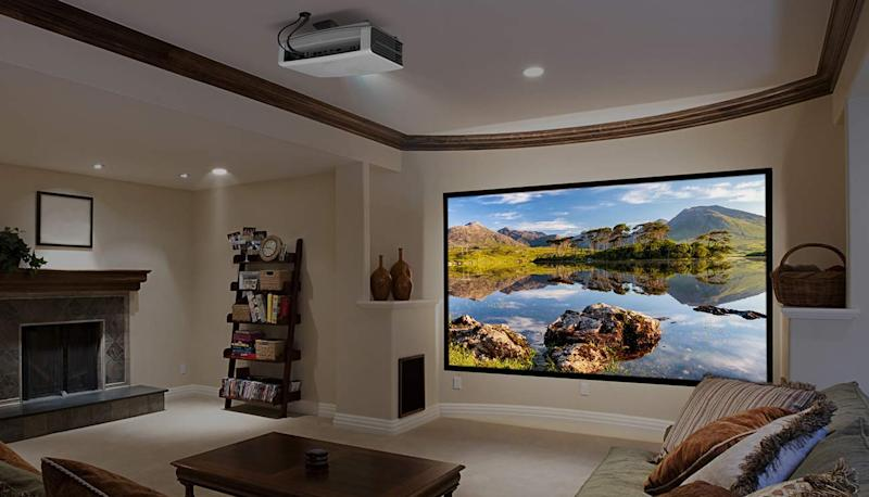 In the market for a 4K TV? Consider a 4K projector instead. (Photo: Amazon)