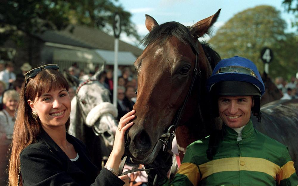 Declan Murphy and horse - Credit: GETTY IMAGES