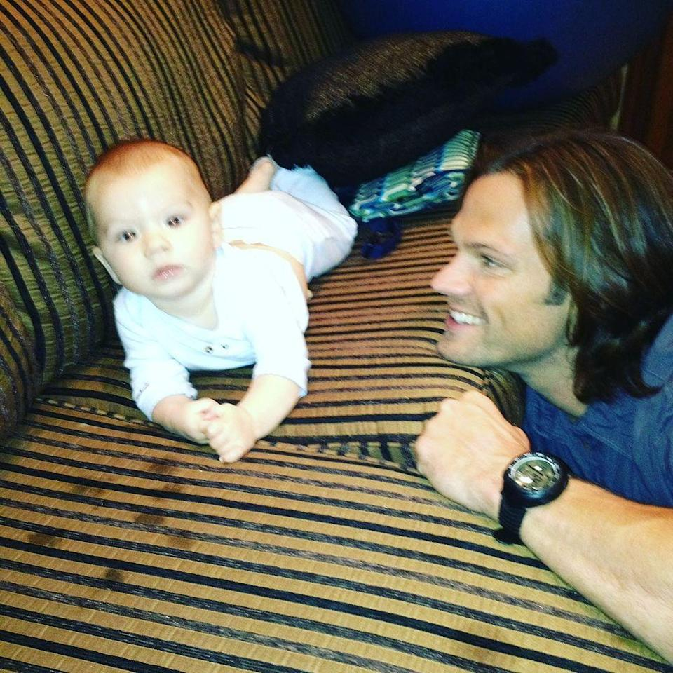 "<p>Jared and Genevieve Cortese Padalecki's son <a href=""https://people.com/parents/jared-padalecki-welcomes-son-thomas-colton/"" rel=""nofollow noopener"" target=""_blank"" data-ylk=""slk:Thomas &quot;Tom&quot; Colton"" class=""link rapid-noclick-resp"">Thomas ""Tom"" Colton</a> turned 9 on March 19.</p>"