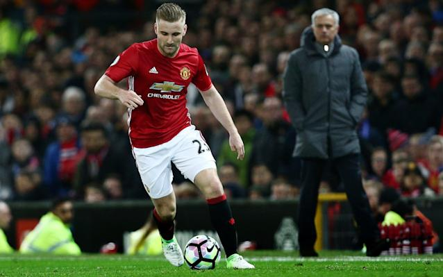 Jose Mourinho has publicly criticised Luke Shaw - Rex Features