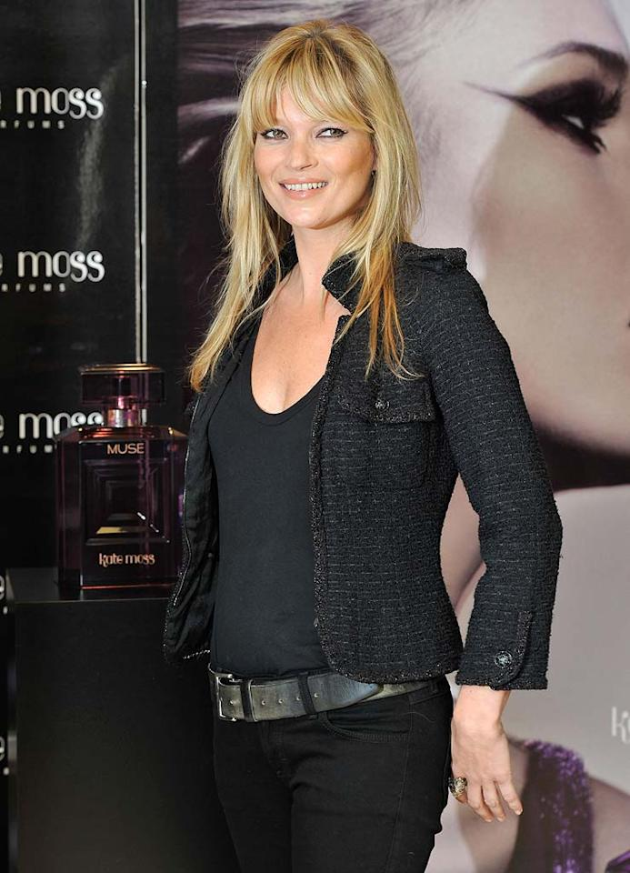 """January 16: Kate Moss turns 37 Gareth Cattermole/<a href=""""http://www.gettyimages.com/"""" target=""""new"""">GettyImages.com</a> - November 26, 2010"""