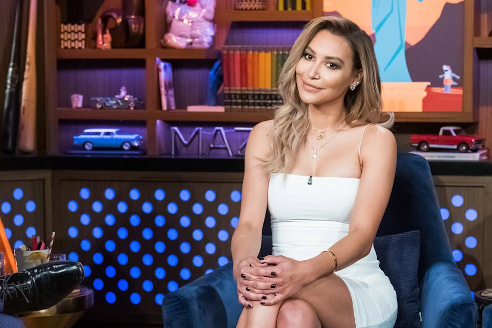WATCH WHAT HAPPENS LIVE WITH ANDY COHEN -- Pictured: Naya Rivera -- (Photo by: Charles Sykes/Bravo/NBCU Photo Bank/NBCUniversal via Getty Images)