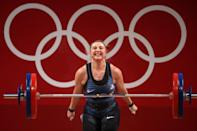 """<p>Biography: 22 years old</p> <p>Event: Women's light heavyweight weightlifting </p> <p>Quote: """"There were some beautiful days, days where I wanted to quit, days that I had some very serious doubts about my abilities. But they all have contributed to this once (maybe twice) in a lifetime opportunity that I do not take lightly.""""</p>"""