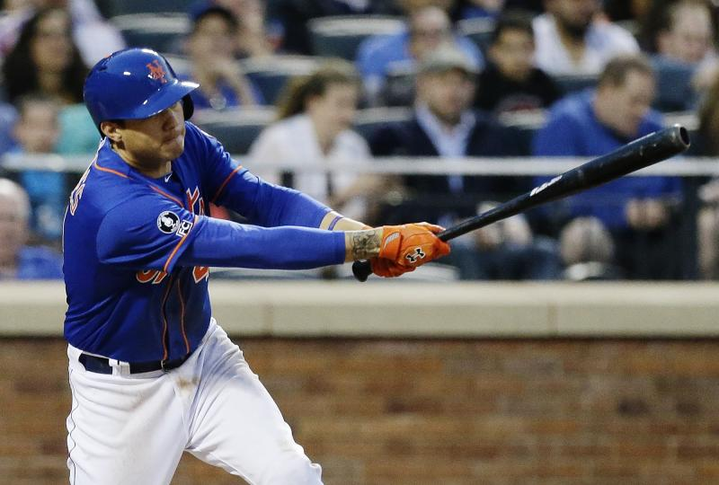 Flores leads Niese and Mets to 7-3 win over Cubs