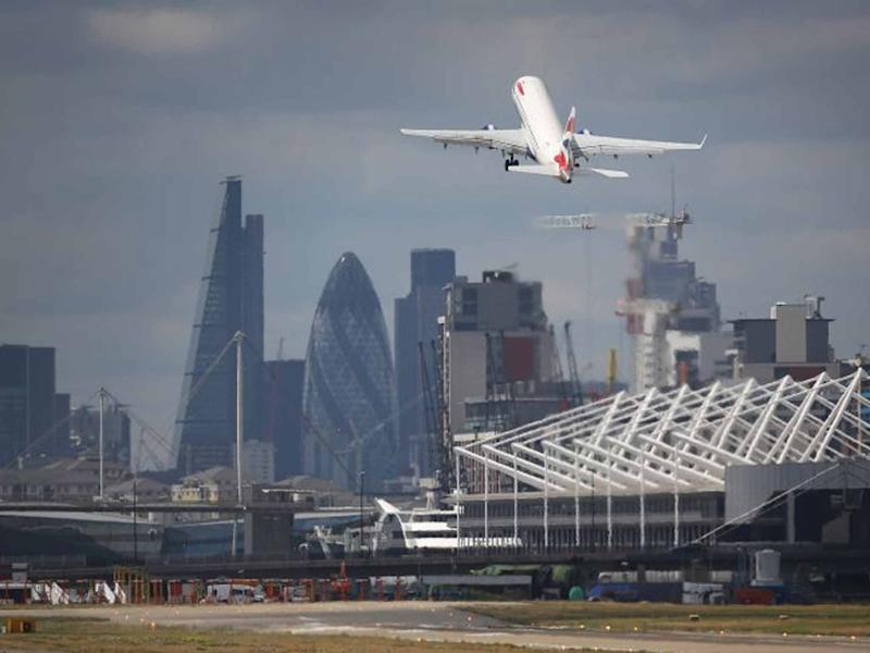 London City Airport: Getty