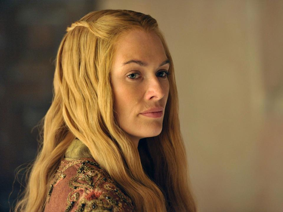 The Cersei Lannister actress uploaded a photo captioned 'my stone heart'