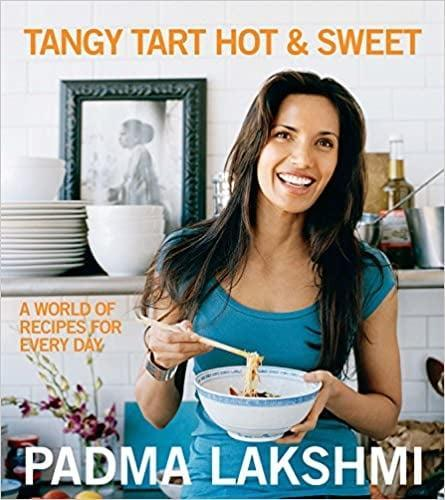 <p>If you're a fan of award-winning author Padma Lakshmi, you'll buy this cookbook ASAP. <span><strong>Tangy Tart Hot and Sweet: A World of Recipes for Every Day</strong></span> ($20) makes it super easy to accomplish the most elaborate meals, such as BBQ Korean Short Ribs, Keralan Crab Cakes, and Chocolate Amaretto Ice Cream. You'll experience a host of favors and learn about new spices.</p>