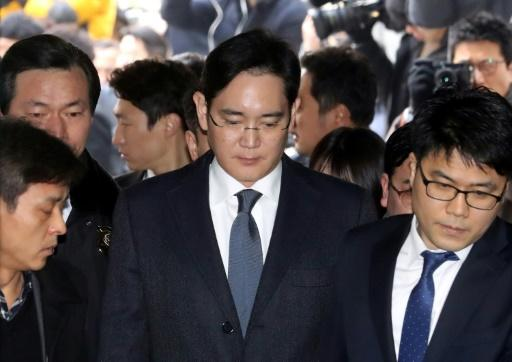 Samsung heir arrested in corruption probe