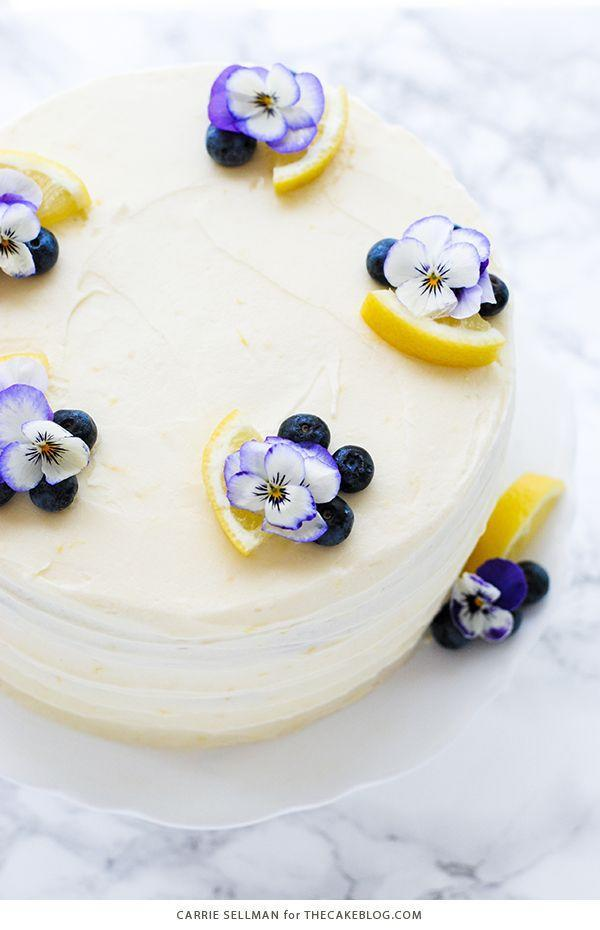 "<p>A cake made with fresh lemons and blueberries has spring written all over it. Blogger Carrie warns that the lemon cream cheese frosting is so good, you might want to eat it alone. </p><p><strong>Get the recipe at <a href=""https://thecakeblog.com/2016/06/lemon-blueberry-cake.html"" rel=""nofollow noopener"" target=""_blank"" data-ylk=""slk:The Cake Blog"" class=""link rapid-noclick-resp"">The Cake Blog</a>.</strong> </p>"