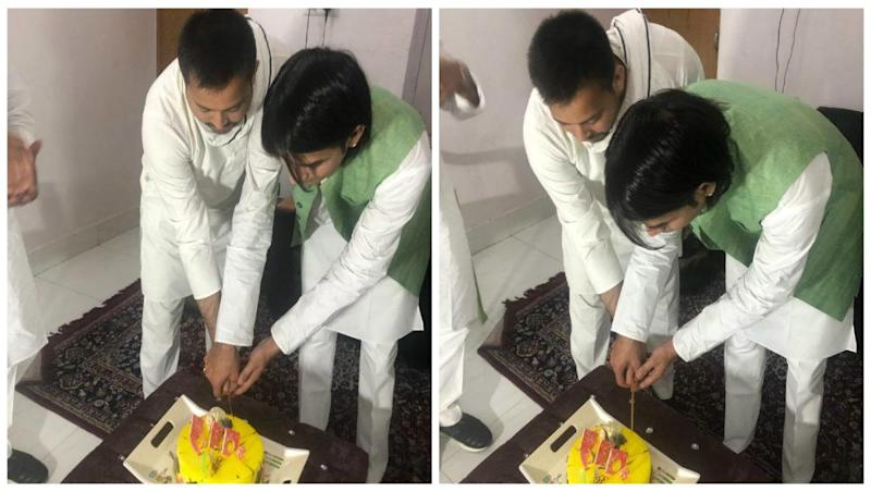 RJD Leader Tejashwi Yadav Celebrates Disgruntled Brother Tej Pratap's Birthday, Shares Picture Ending Speculations of Rift
