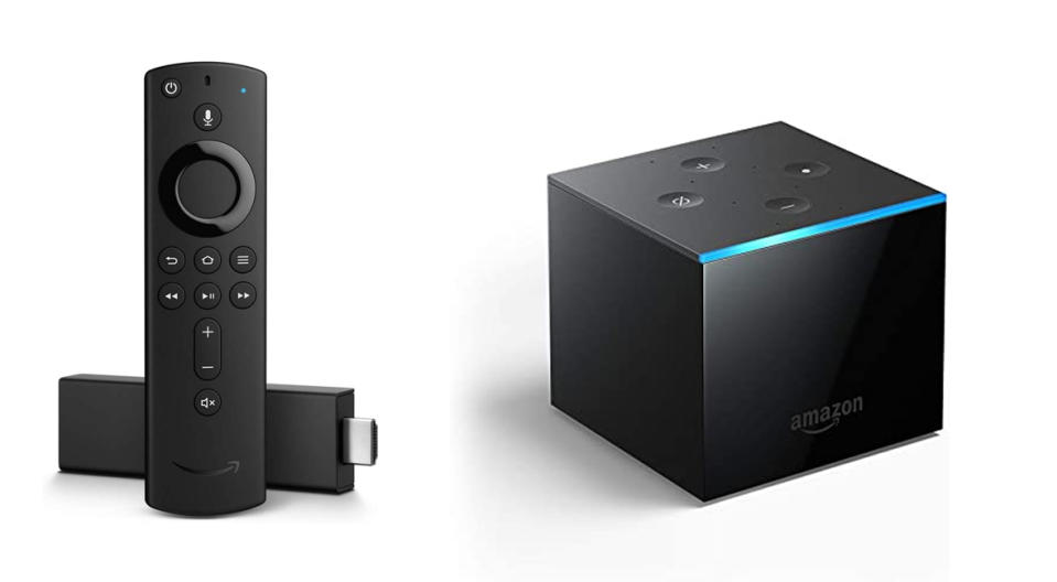 Prime Day Previous generation Fire Stick and Fire Cube (Photo: Amazon)