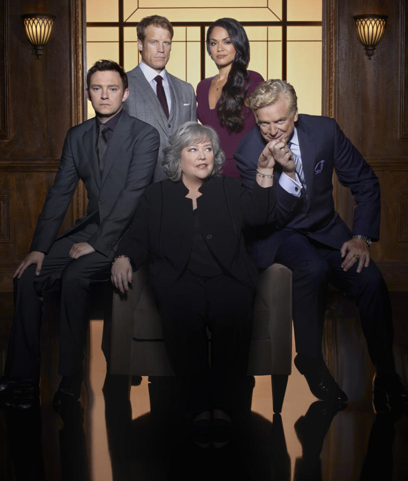 """<b>""""Harry's Law"""" (NBC)</b><br><br>Read more on our <a href=""""http://tv.yahoo.com/shows-in-trouble"""">Shows in Trouble</a> page"""