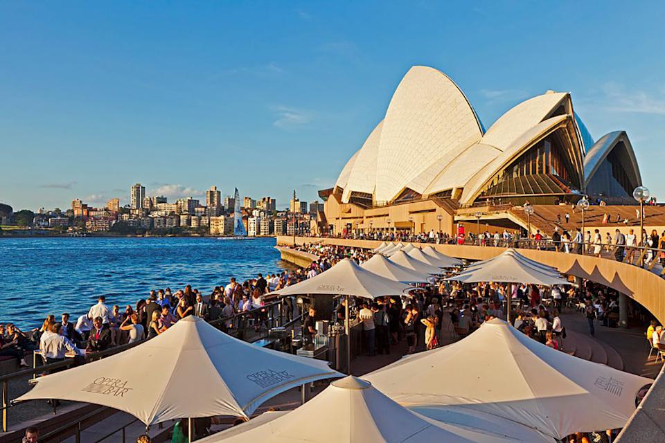 You can use both your dine and discover vouchers at the Opera House! Photo: Getty