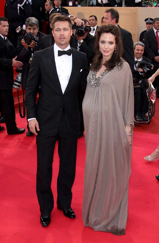 "Angelina Jolie and Brad Pitt continued to be the main attraction at the Cannes Film Festival. Angelina premiered yet another film, ""Changeling,"" on Tuesday. George Pimentel/<a href=""http://www.wireimage.com"" target=""new"">WireImage.com</a> - May 20, 2008"