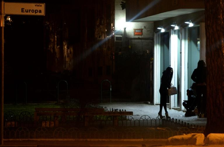 Italian police say running prostitution rings is one of the crimes committed by a Nigerian mob in the country
