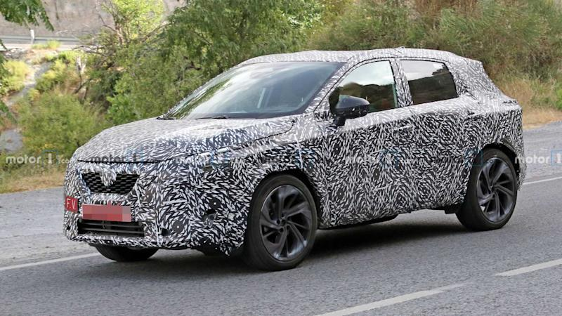 2022 Nissan Qashqai spy photo