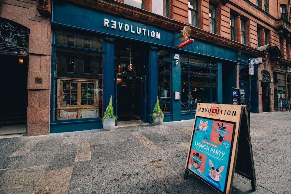 Revolution has hailed a strong performance since reopening its bars (Revolution/PA)