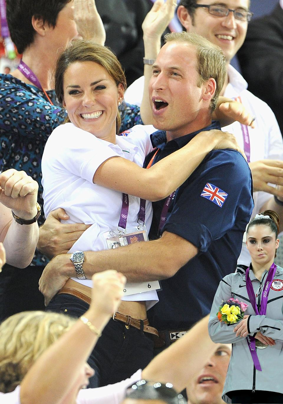 McKayla Maroney is not impressed with Will and Kate's happiness.