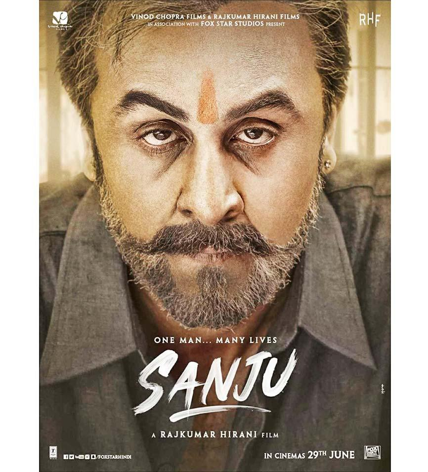 <p>A biopic of a movie star that revived the career of its lead actor, Sanju ranked number 10 in IMDb's list of the top movies of 2018. </p>