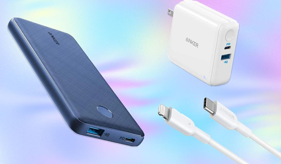 Save up to 38 percent on Anker smartphone and laptop accessories. (Photo: Amazon)