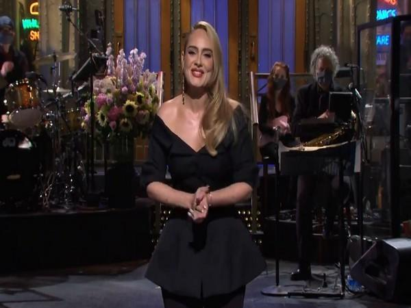 Adele during her monologue at 'Saturday Night Live (Image courtesy: Instagram)