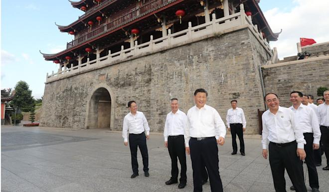 A Chinese academic says Xi has to promote Chinese culture to realise the Chinese dream. Photo: Xinhua