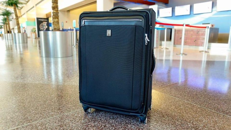 Invest in a top-notch suitcase that'll last you for years of travel.