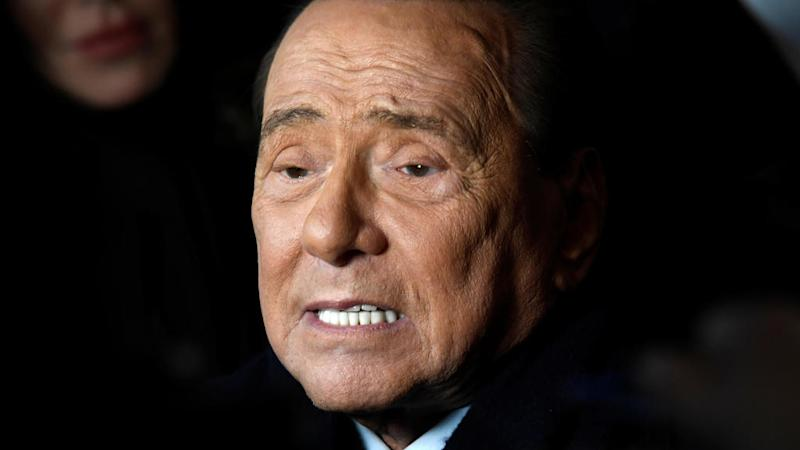 Italy's former PM Berlusconi in hospital after testing positive for coronavirus