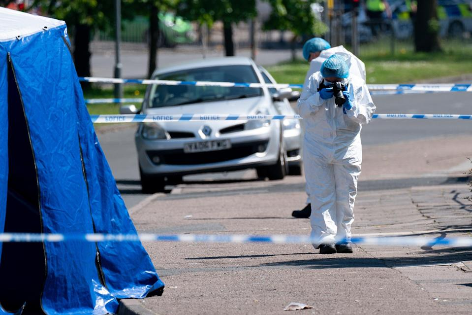 <p>Two young teenagers were among those arrested</p> (PA Wire)